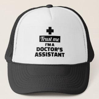 私が私医者の助手であることを信頼して下さい キャップ