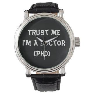 私が私医者の腕時計であることを信頼して下さい 腕時計
