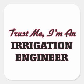 私が私潅漑エンジニアであることを信頼して下さい スクエアシール