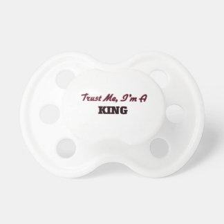 私が私王であることを信頼して下さい おしゃぶり