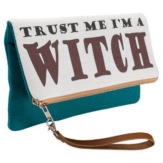 私が私魔法使いであることを信頼して下さい クラッチバッグ