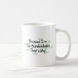 私が細菌学者であるので コーヒーマグカップ