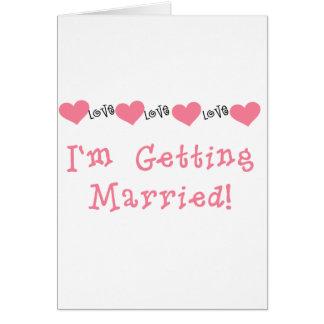 私が結婚しているメロンのハート カード