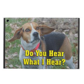 私が聞くものをおもしろい聞きますか。 ビーグル犬