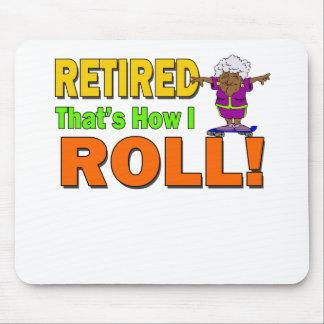 私が退職したいかに転がるか マウスパッド