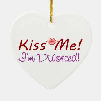 私が離婚する私に接吻して下さい セラミックオーナメント