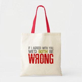 私が…バッグを同意したら-スタイルを選んで下さい トートバッグ