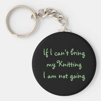 私が…私の編み物を持って来ることができなければ キーホルダー