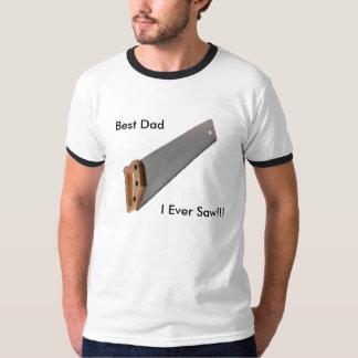 私が!見た最も最高のなパパ!! 信号器のスタイル Tシャツ