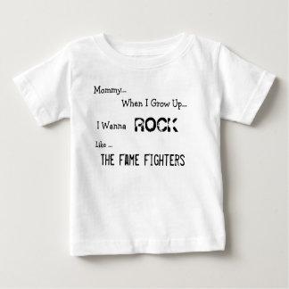 """私が"""" Tシャツを育つ時ベビー"""" ベビーTシャツ"""