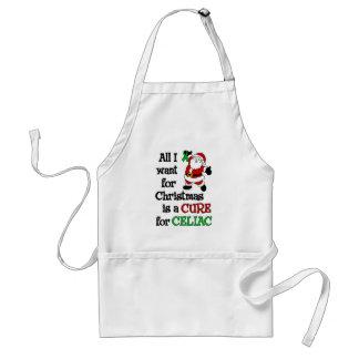 私がCeliacクリスマスのために…ほしいすべて スタンダードエプロン