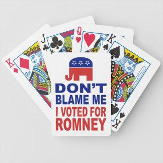 私がRomneyのために投票した私の責任にしないで下さい バイスクルトランプ