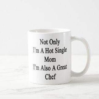 私だけ私がまたすばらしいCheの熱い未婚の母です コーヒーマグカップ