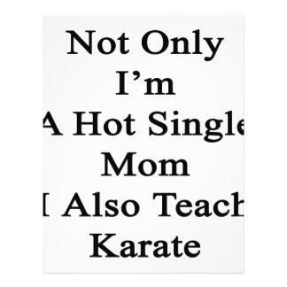 私だけ私がまた空手を教える熱い未婚の母です レターヘッド