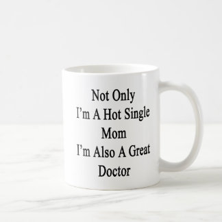 私だけ私がまた素晴らしいDOCの熱い未婚の母です コーヒーマグカップ