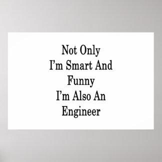 私だけ頭が切れるであり、おもしろいまたエンジニアです ポスター