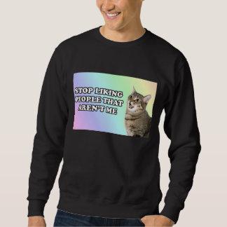 私ではない人々を好むことを止めて下さい スウェットシャツ