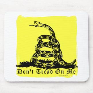 私でガラガラヘビを踏まないで下さい マウスパッド