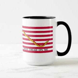 私でコーヒー・マグを踏まないで下さい マグカップ