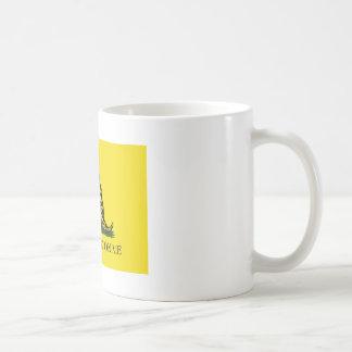 私でマグを踏まないで下さい コーヒーマグカップ