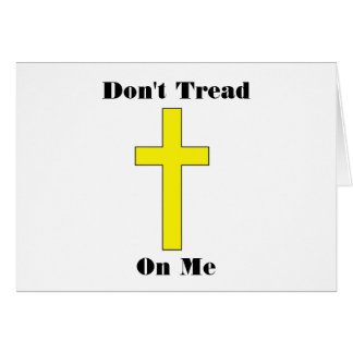 私で十字の宗教自由カードを踏まないで下さい カード