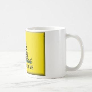 私で旗統一されたな州を踏まないで下さい コーヒーマグカップ