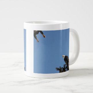 私で踏まないで下さい ジャンボコーヒーマグカップ