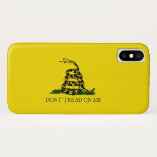 私で踏まないで下さい iPhone X ケース