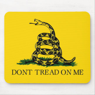 私で-ガズデンの旗を踏まないで下さい マウスパッド