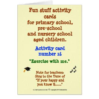 私とのエクササイズ-活動カード16 カード