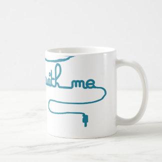 私とのジャイヴ コーヒーマグカップ