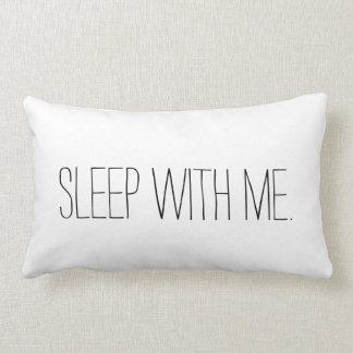 私との睡眠おもしろいな寝室の枕 ランバークッション