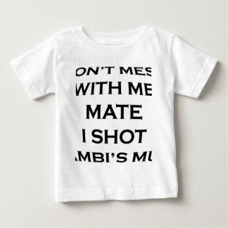私と仲間Iの打撃のbambiのミイラを台なしにしないで下さい ベビーTシャツ