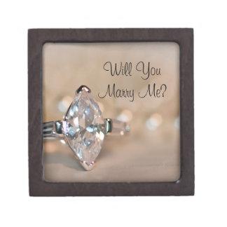 私と伯爵夫人のダイヤモンド指輪箱結婚します ギフトボックス