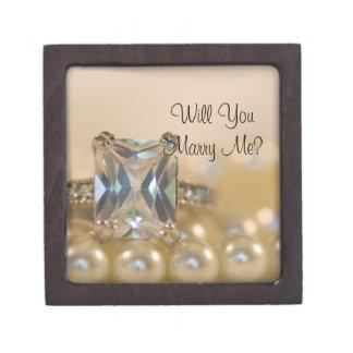 私と婚約指輪箱結婚します ギフトボックス