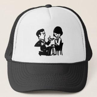 私と帽子/帽子結婚して下さい キャップ