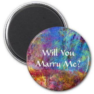 私と結婚しますか。 磁石