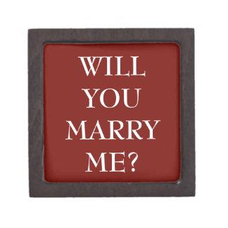 私と結婚しますか。 -記念品のギフト用の箱 ギフトボックス