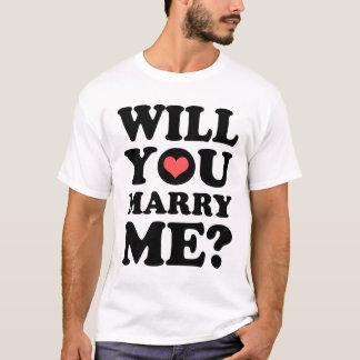 私と軽いTシャツ結婚します Tシャツ