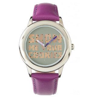 私にあなたのクッキーZ52z4を示して下さい 腕時計