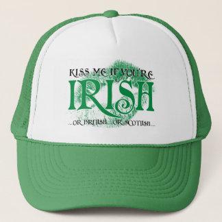 私にあなたはアイルランド語…接吻して下さい キャップ