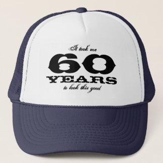 私にこのよい誕生日の帽子を見るために60年かかりました キャップ