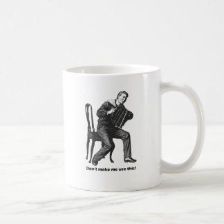 私にこれを使用させます! (アコーディオン) コーヒーマグカップ