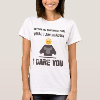 私にもう一度迷惑を掛けま私が間、私の敢えてする読みます Tシャツ