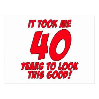 私によいこれを見るために40年かかりました ポストカード