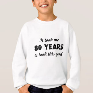 私によいこれを見るために80年かかりました スウェットシャツ