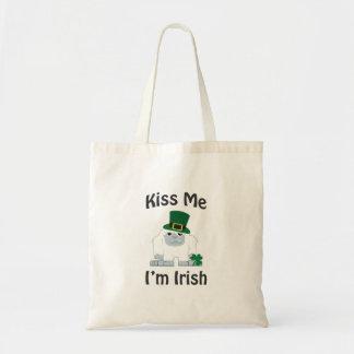 私によってがアイルランドの雪男である私に接吻して下さい トートバッグ