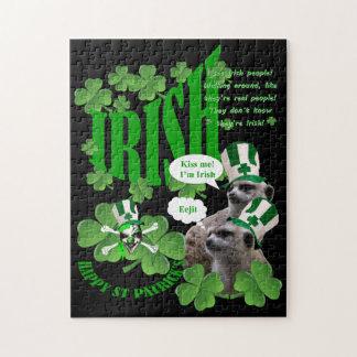 私によってがアイルランドのmeerkatのデザインである私に接吻して下さい ジグソーパズル