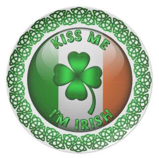 私によってがアイルランド語である私に接吻して下さい プレート