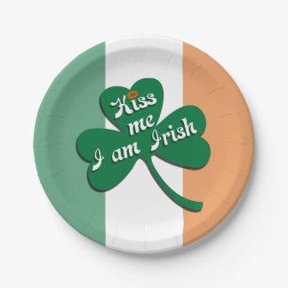 私によってがアイルランド語である私に接吻して下さい ペーパープレート